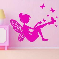 """Стикер""""Феята на пеперудите"""""""