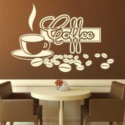 "Стикер ""Ароматно кафе"""