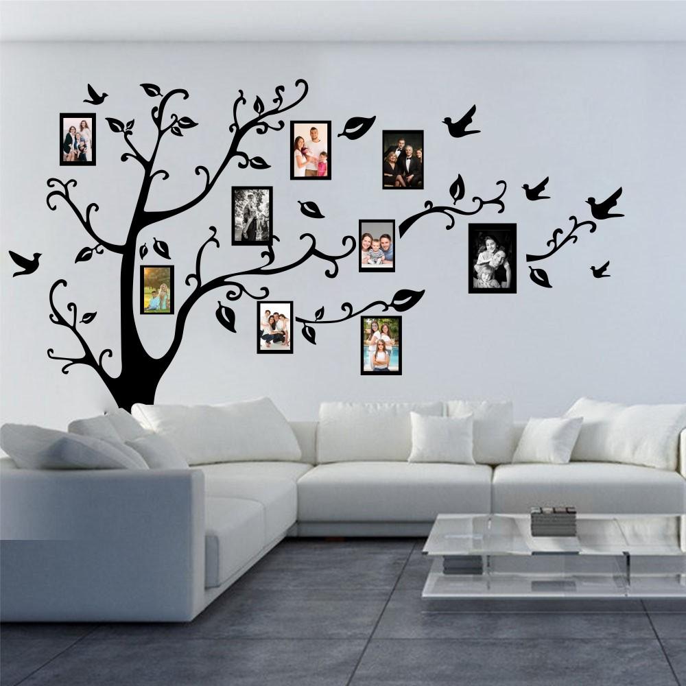 "Стикер""Родословно дърво с рамки"""