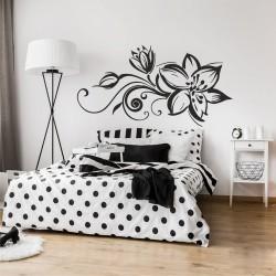 Стилен и нежен стикер цвете подходящ за всяко кътче от дома Ви