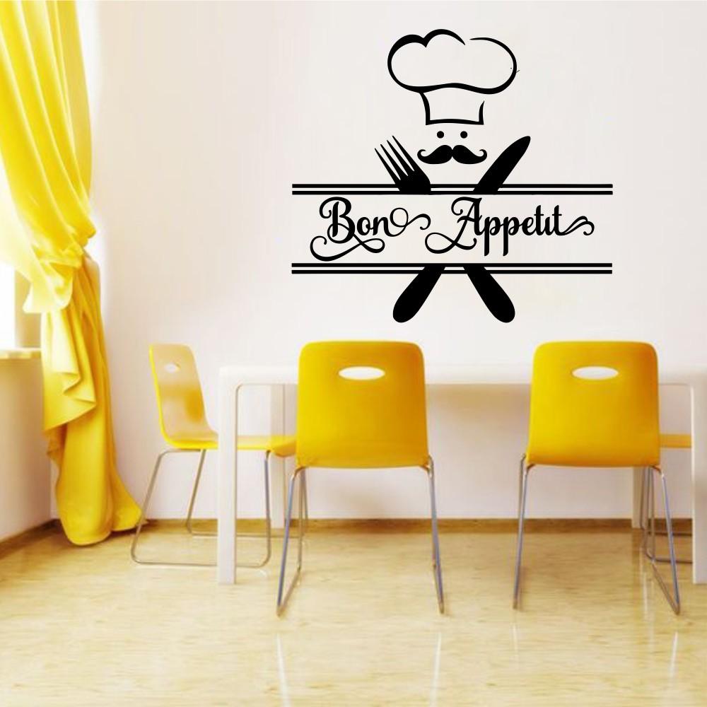 """стикер""""Bon Appetit"""""""