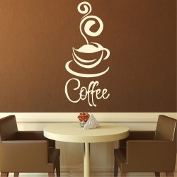 """Стикер""""Coffee"""""""