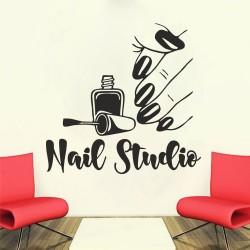 """Стикер""""Nail studio"""""""