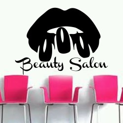 "Стикер""Beauty Salon"""