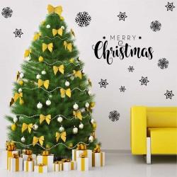 "Комплект""Merry Christmas""+19 снежинки"