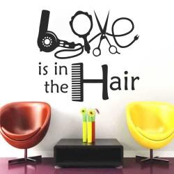 "Стикер""Love is in the Hair"""