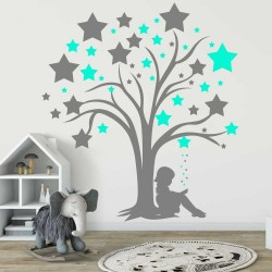 """Стикер""""Вълшебно дърво"""""""