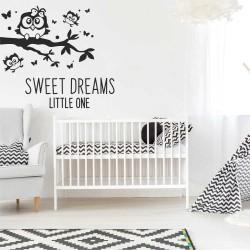 "Клонче с бухалчета+надпис""Sweet dreams little one"