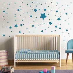 Комплект звезди и точки